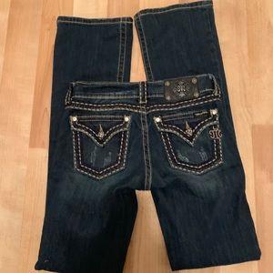Miss Me bootcut jeans pants size 27